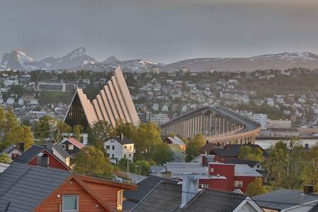 Apartment, stunning views in Tromsø