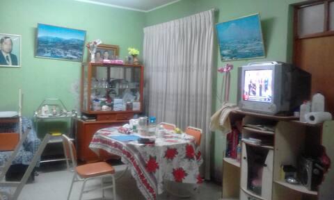 Casa  con ambiente  climatizado