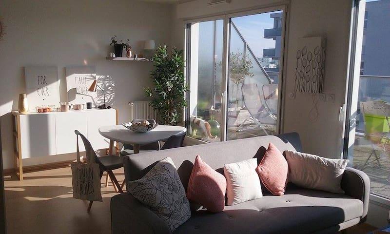 Bel appartement, quartier Stade Rennais - Rennes - Appartement