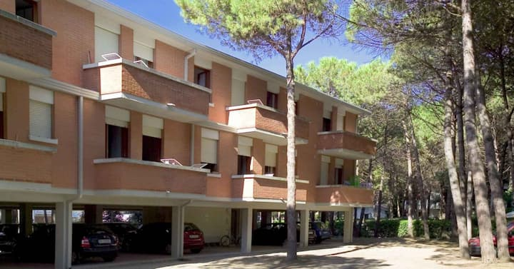 apt for 2+1 pers - dog welcome in Bibione R26232
