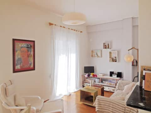 Amazing, comfy apt, close to metro and the center!