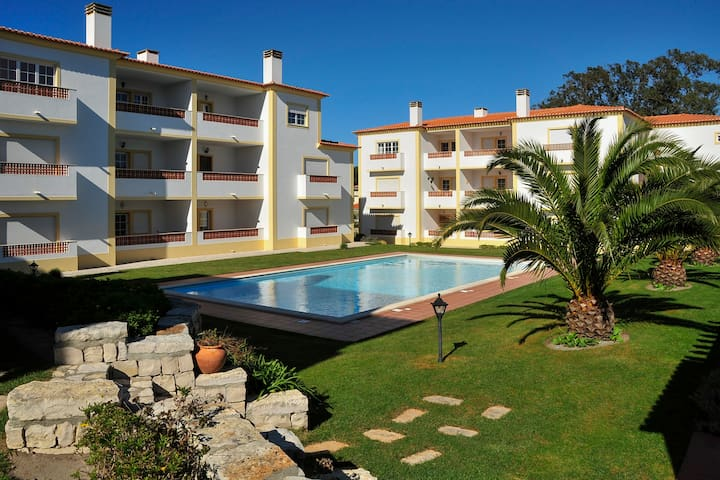 Praia d'el Rey RelaxingApartment Beach Pool Pets15 - Óbidos Municipality - Apartament