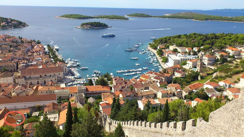 Apartment Rustica Hvar old town