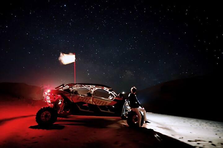 敦煌鸣沙山月牙泉景区沙漠露营基地 【体验体验再体验】 文哥带你去沙漠旅行