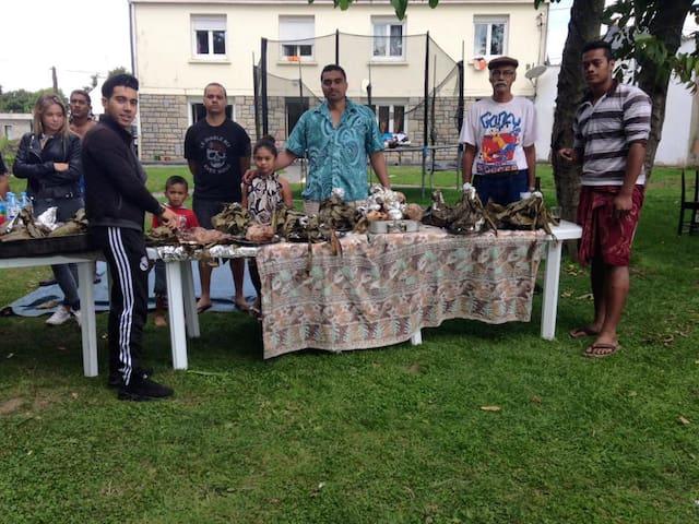UN ESPACE ADAPTER POUR LES FAMILLES - Bignan - Huis