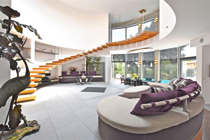 Fantastic Architectural villa 10 mn from the sea ! - La Gaude - Villa