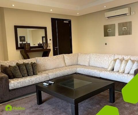 Luxury 3 Bedroom Apartment with Boys Quarter