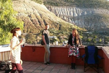 Rustique Townhouse With Great View! - Real de Catorce - Dům