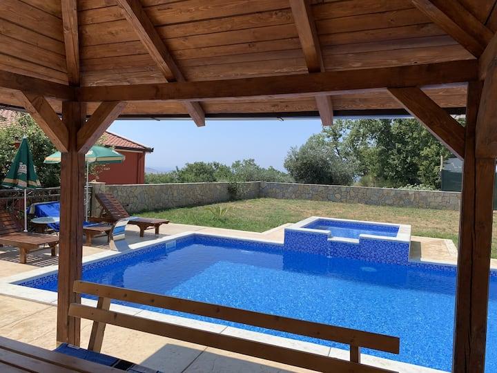 Vila Victor with pool
