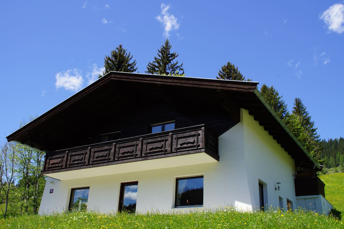 Das Haus/in front of the house