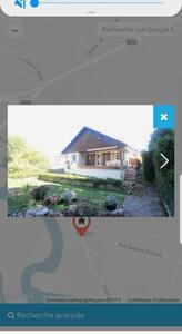 Maison theuriot  en bordure de rivière