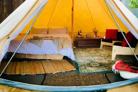 Luxurious Glamping only 90 minutes from Melbourne
