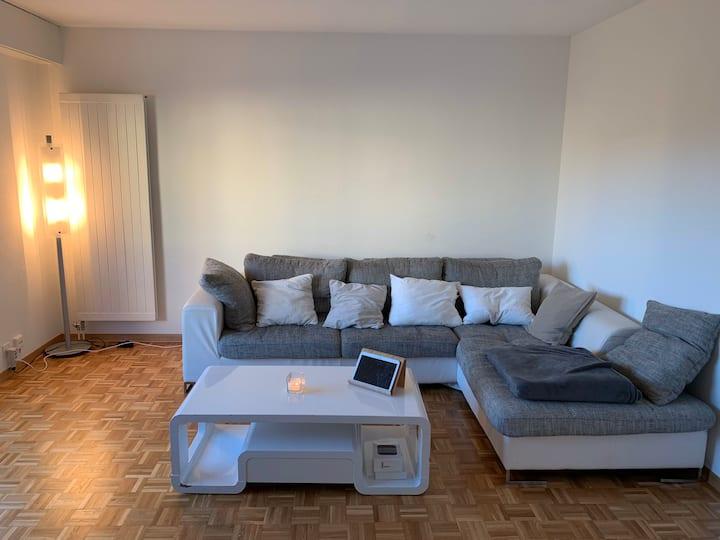 Appartement cosy et feutré