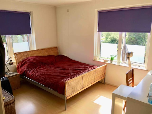 1-2 pp room nearby AirPort/AMS/Free WIFI/parking