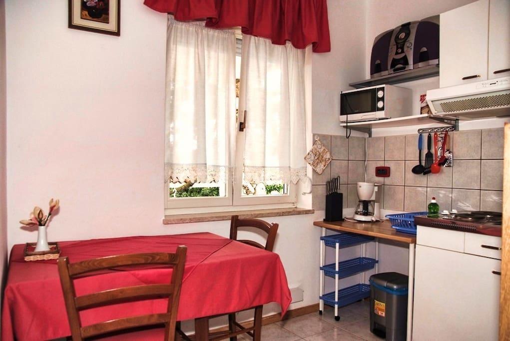 Cucina di appartamento