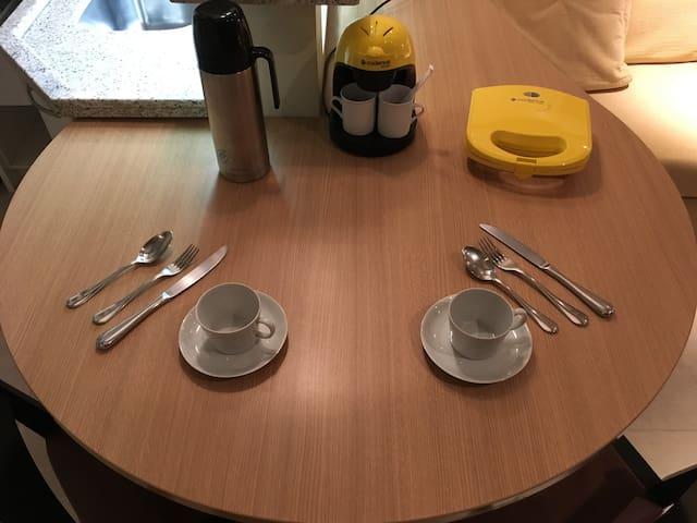 Café está quase servido!!