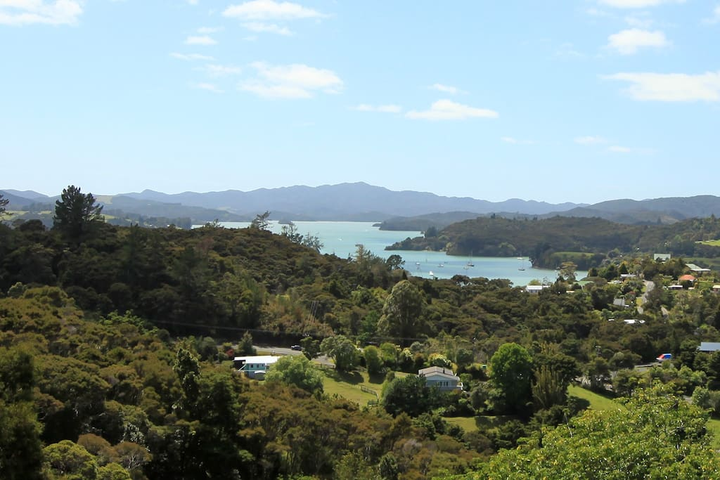 The view of Waikare Inlet