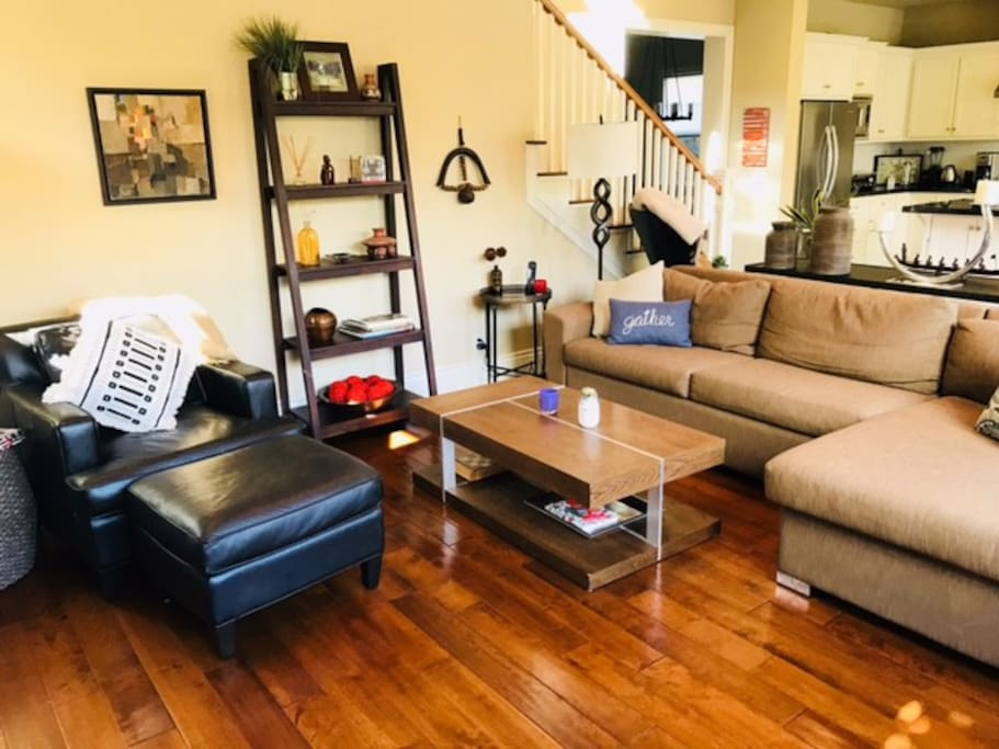 Lots of family room seating