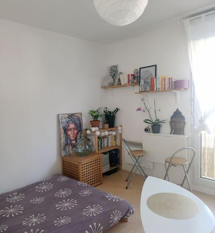Joli studio calme et tranquille