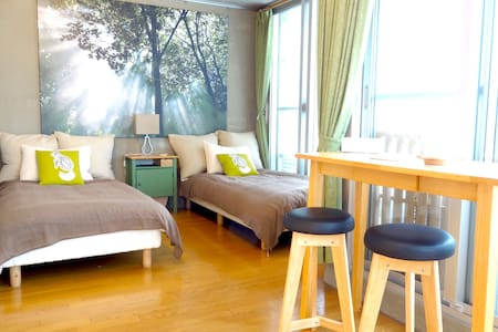 D/1min Omiya sta ,Kinkakuji (GR) - Shimogyo Ward, Kyoto - Apartemen