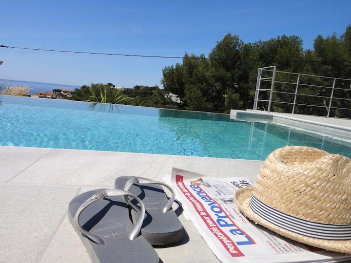 Home Cassis - Maison Méditerranée - Indigo