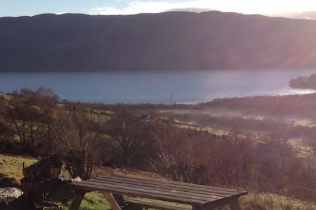 Boxy's Croft, 2 bed cottage overlooking Loch Ness - Drumnadrochit - Hus