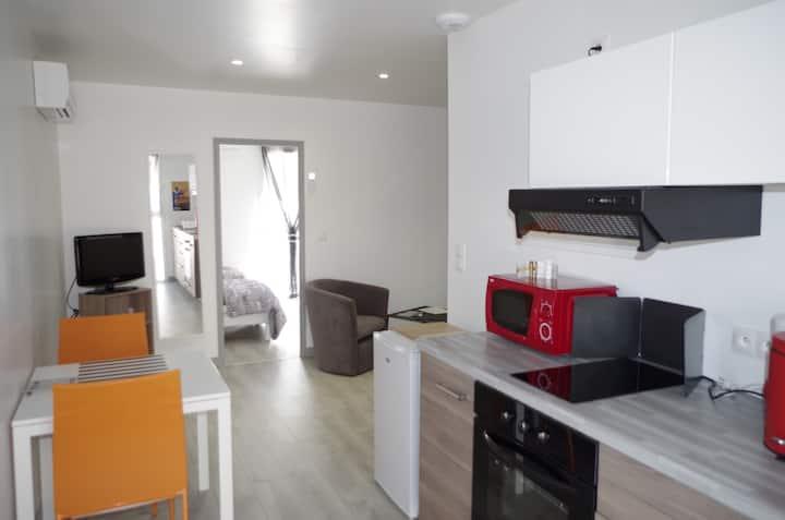 Appartement N°3 Orange Le Bon Mat'Ain