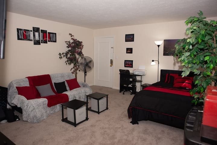 Cozy Studio Apartment minutes from EVERYTHING!