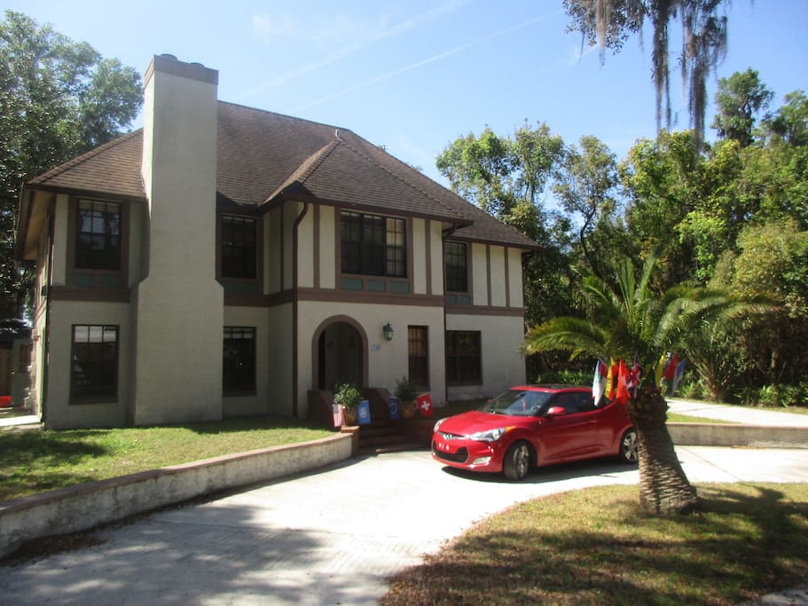 Welcome to our cozy Swiss-Floridian Bed and Breakfast in Deland.