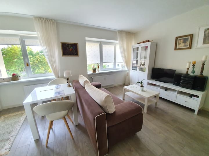 Modern apartment in Palanga centre/wifi/good view
