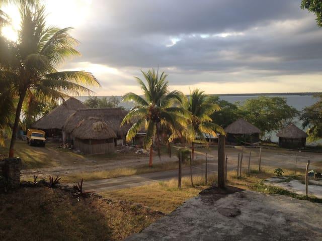 Casa Tucán #3 Laguna Bacalar views & access