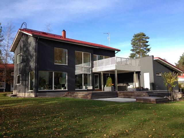 Modern luxury house 30min from Helsinki city