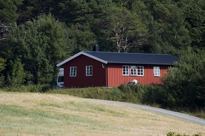 Solbakken Hof und Ferienhäuser, Strandstua - Fevåg
