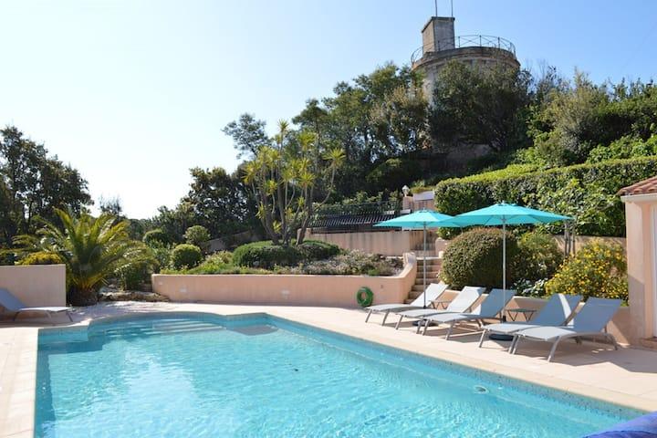Villa boutique con piscina a Sainte-Maxime