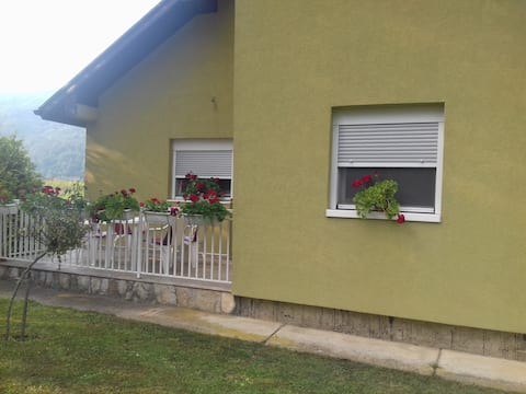 House in peaceful neighborhood, 10 min from center