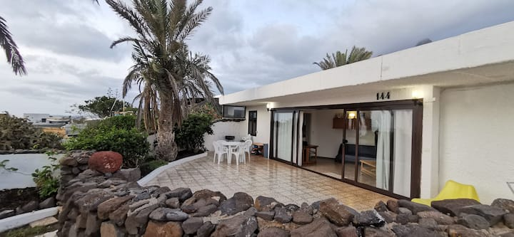 Stunning Bungalow Pacha, 100 meters from the beach