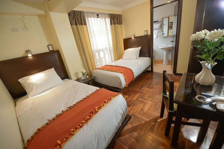 Tecte Guest House. Triple bed room