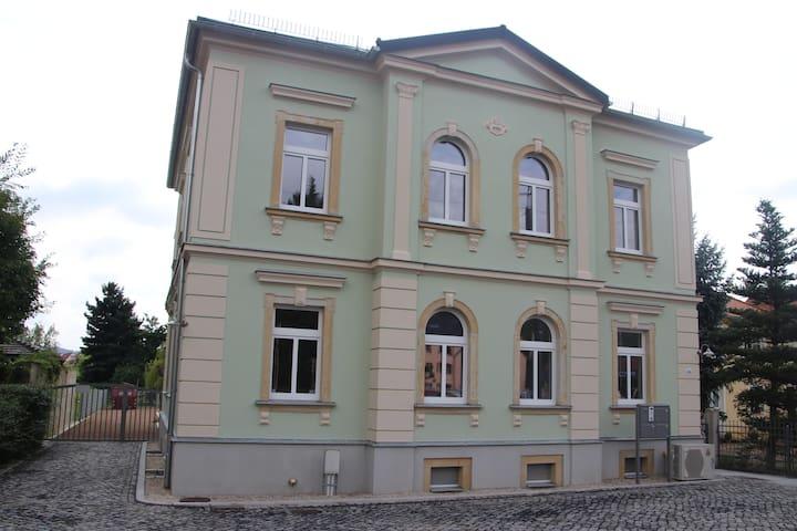 Wohlfühlzimmer mit Blick auf die Weinberge - Radebeul - Apartemen