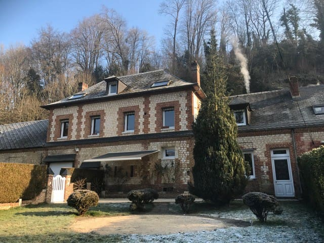 House of XVIIem of 270m2 entirely renovated - Le Héron - Dom