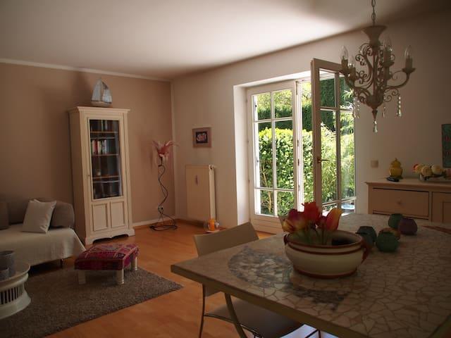 Idyllische Gartenwohnung Ammersee - Utting am Ammersee - Apartment