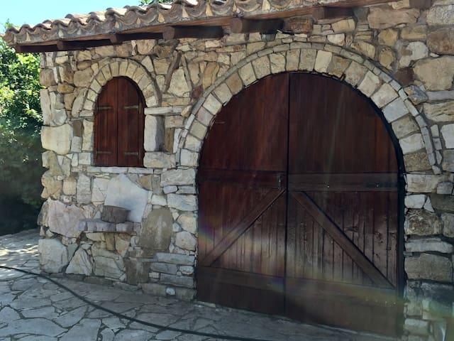 The stone cellar