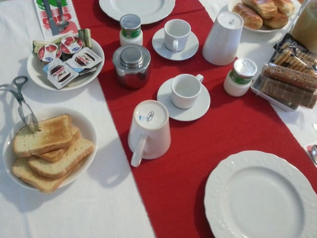 """""""Stanza blu """"con colazione - Pompei - Huis"""