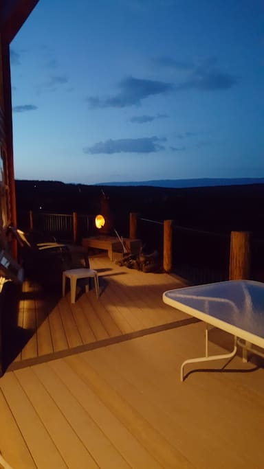 June 11, 2016 view from the deck