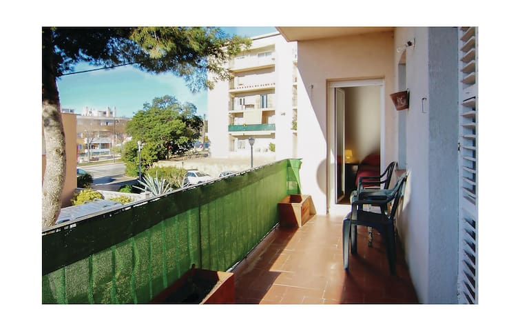 Holiday apartment with 4 bedrooms on 62 m²