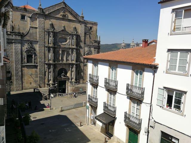 Apartamento en el Centro Histórico de Santiago - Сантьяго-де-Компостела - Кондоминиум