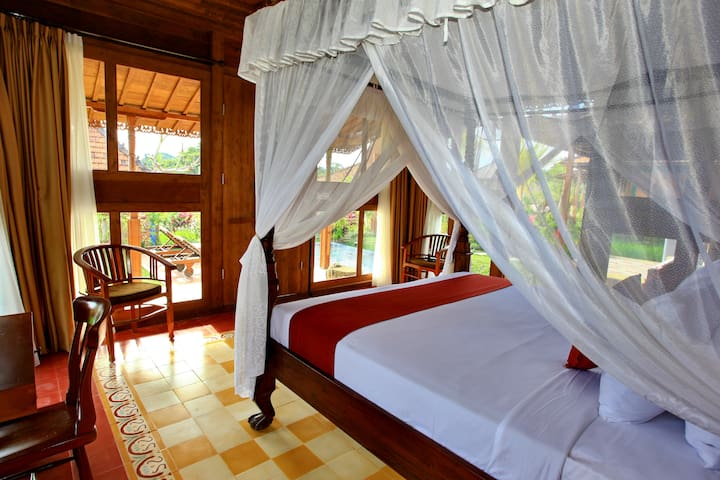 Relaxing Villa with Pool & Rice Field View - Ubud - Villa