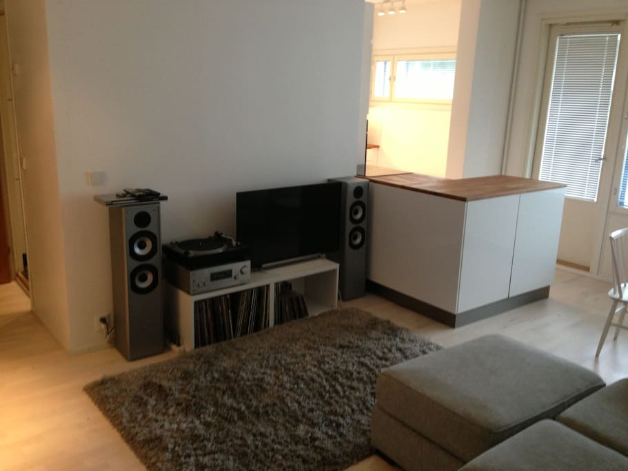 Entertainment unit in the livingroom