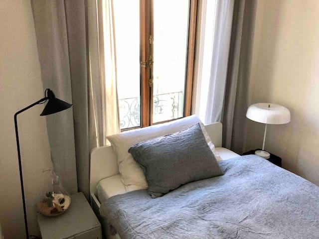 Minimalist & comfortable right in the city center