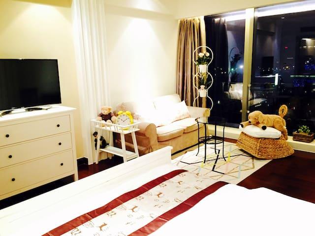 Super luxary APT 无敌温馨房,豪华五星酒店公寓 - Ningbo - อพาร์ทเมนท์