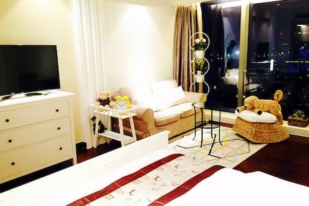 Super luxary APT 无敌温馨房,豪华五星酒店公寓 - Ningbo - Apartment
